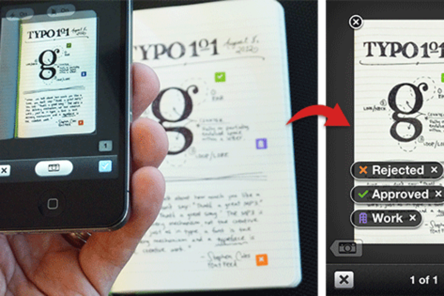 Digital and Traditional Note Taking Merge with Evernote & Moleskine
