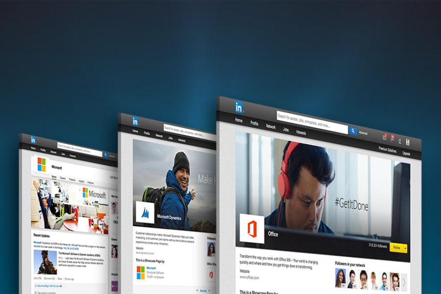 LinkedIn's New Showcase Pages