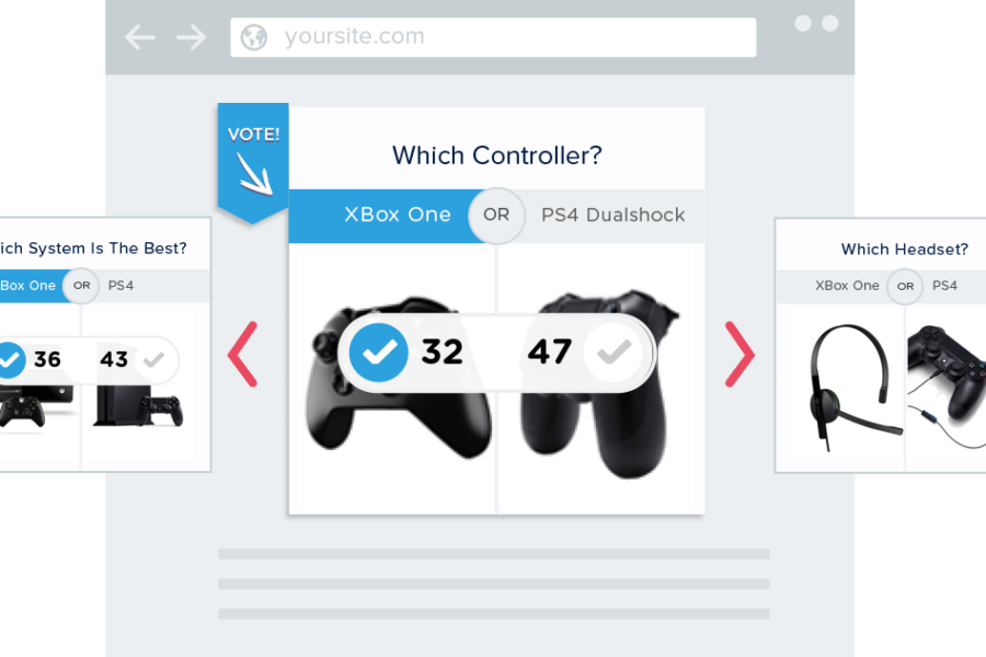 Create and Publish polls for your site with Polar