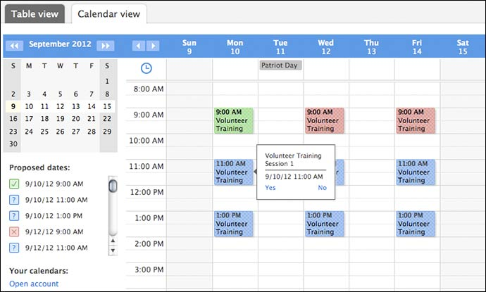 Create and Manage Better Online Calendars