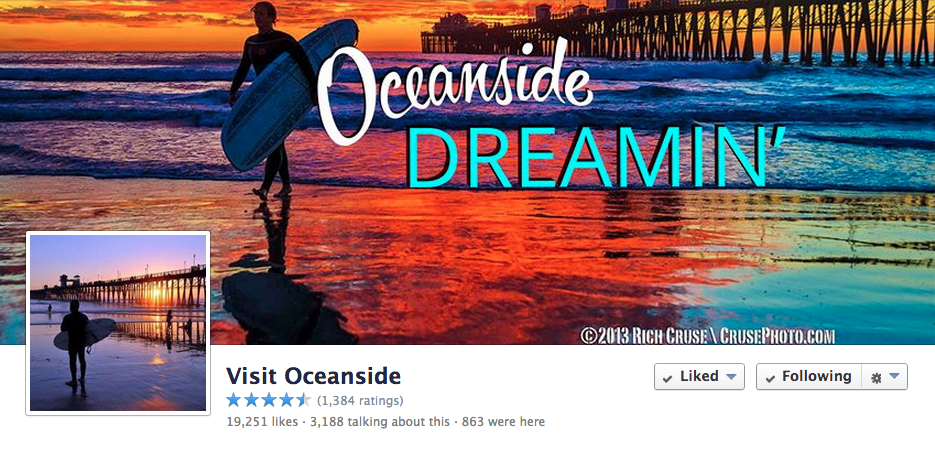 FACEBOOK - Visit Oceanside