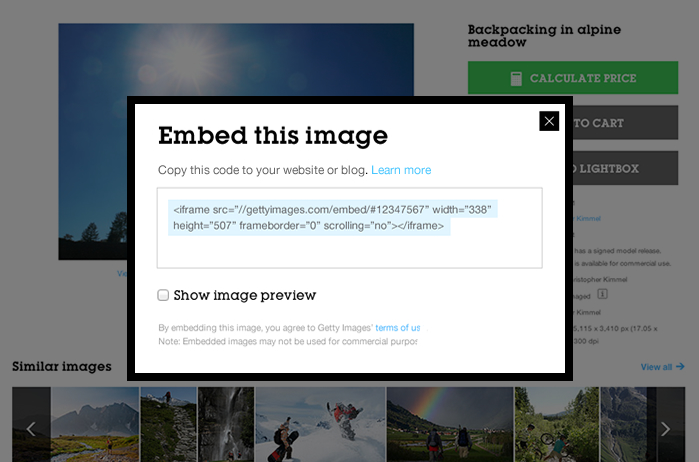 35 Million Getty Images Free for Non-Commercial Use