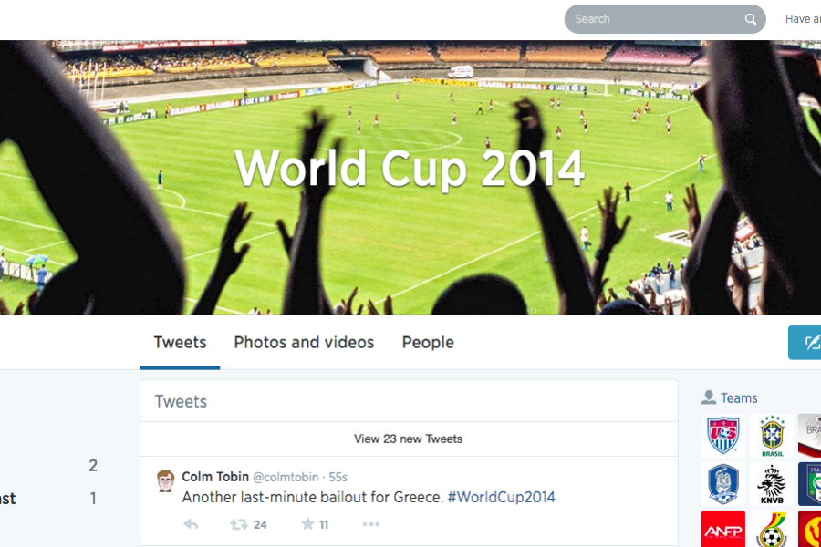 How Twitter and Facebook prepared for the World Cup